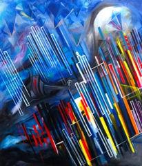 Malerei, Triptychon, Linke
