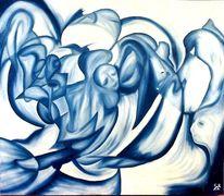 Blickwinkel, Traum7, Eintauchen, Blau