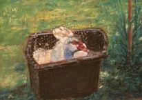 Tiere, Pastellmalerei, Natur, Malerei