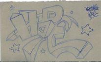 Graffiti, Schrift, Hoffnung, Stern