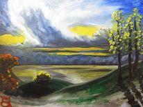 Ostsee, Meer, Herbst, Baum