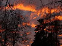 Fotografie, Feuer, Himmel