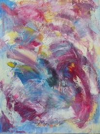 Palette, Spachteltechnik, Ölmalerei, Malerei