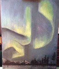 Landschaft, Pastellmalerei, Zeichnung, Zeichnungen