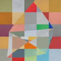 Quadrat, Putz, Farben, Digital