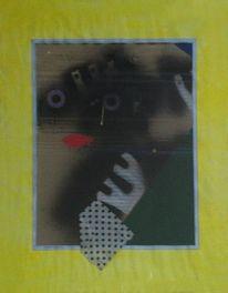 Lack, Pastellmalerei, Lauer, Abstrakt