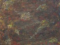 Braun, Grün, Rot schwarz, Orange