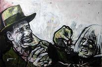 Malerei, Beuys, Kreuz