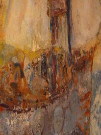 Menschen, Wasser, Fremdlinge, Malerei