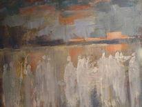 Frau, Elfen, Moor, Malerei