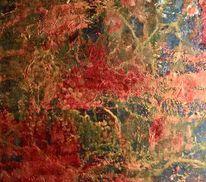 Bunt, Blätter, Malerei