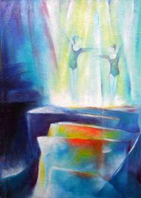 Lichteinfall, Tanz, Lichtblick, Blau
