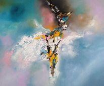 Gemälde, Fantasie, Abstrakt, Modern