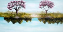 Fantasie, Natur, Landschaft, Jahreszeiten