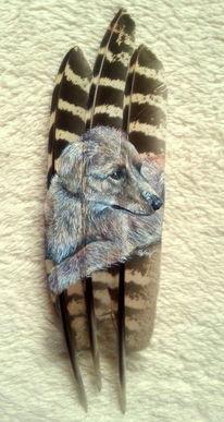 Feder, Zeichnung, Malen, Miniatur