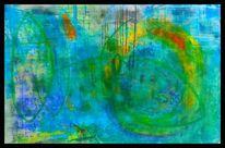Kalksteinmehl, Pigmente, Tuschmalerei, Beize