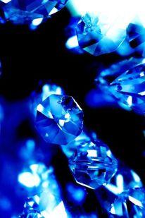 Blau, Kristall, Traum, Verlust