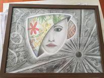 Bleistiftzeichnung, Illustrationen, Kohlezeichnung