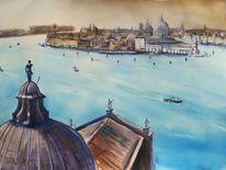 Venezia itation, Aquarell, Venezia