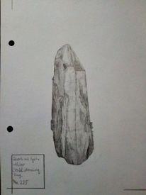 Quarzkristall, Gestein, Erzgebirge, Kristall