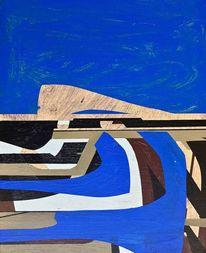 Metaphysisch, Schilder, Zeitgenössisch, Gemälde