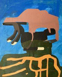 Abstrakt, Abstrakt list, Zeitgenössisch, Modern