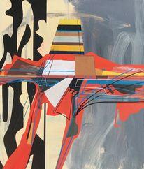 Futurismus, Technik, Avantgarde, Acrylmalerei