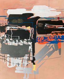 Probe, Abstrakt, Konst, Zeitgenössisch