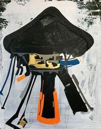 Zeichnung, Modern, Neo, Abstrakt maleri