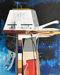 Avantgarde, Acrylmalerei, Rätsel, Metaphysisch