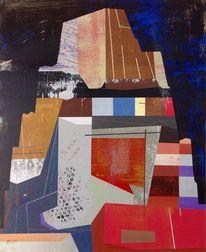 Gemälde, Nacht, Jim harris, Reiten