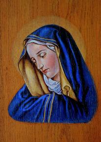 Heilig, Ölmalerei, Model, Hand