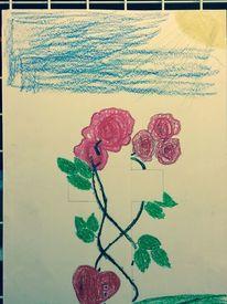 Abbild, Fantasie, Pastellmalerei, Zeichnungen