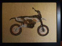 Ktm, Motorrad, Draht, Kunsthandwerk