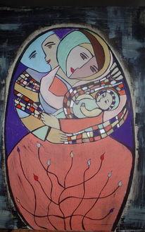 Kind, Liebe, Mosaik, Baby