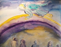 Engel, Menschen, Fliegender engel, Schutzengel