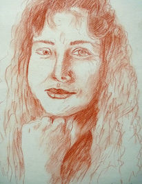 Frau, Portrait, Politikerin, Zeichnungen