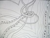 Schleife, Schlingen, Welle, Zeichnungen
