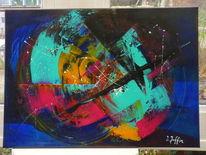 Kreis, Abstrakt, Farben, Bunt