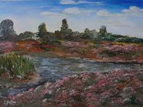 Drover, Heide, Landschaft, Malerei