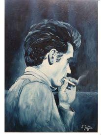 Portrait, Gesicht, Ölmalerei, Malerei
