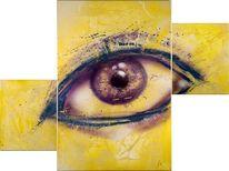 Graffiti, Augen, Malerei
