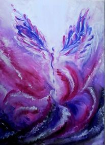 Violett, Engel, Pink, Verwandlung