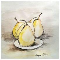 Obst, Birne, Gelb, Nostalgie