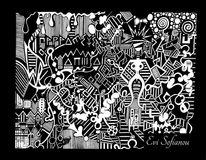 Fantasie, Freihand, Malerei, Linie