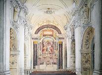 Marienberg, Kirche, Südtirol, Kloster