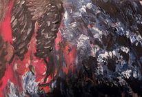 Engel, Sturm, Chaos, Malerei