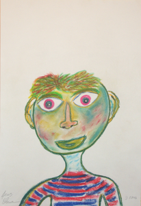 Menschen, Gesicht, Mann, Abstrakt
