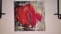 Acrylmalerei, Abstrakt, Malerei, Chaos
