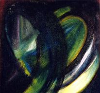 Stille, Abstrakt, Acrylmalerei, Gedeckt